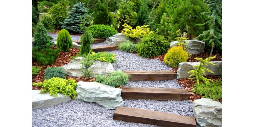 Элементы ландшафтного дизайна вашего сада