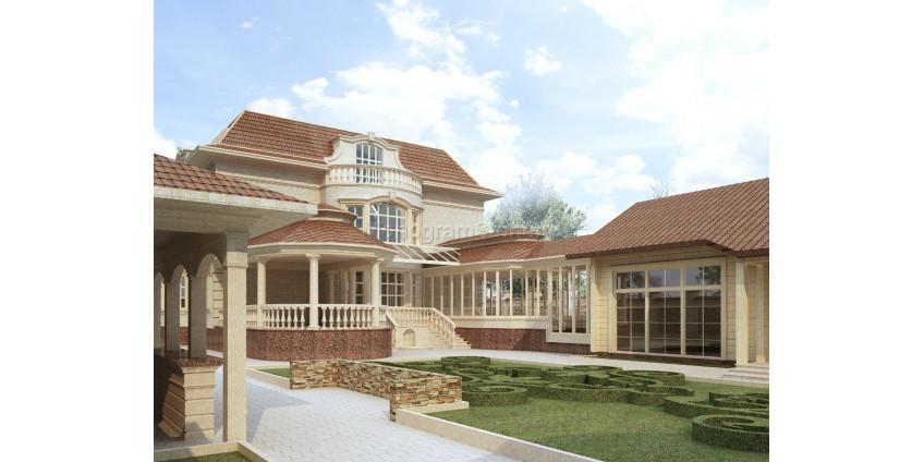 Кастомный дизайн фасадов дома