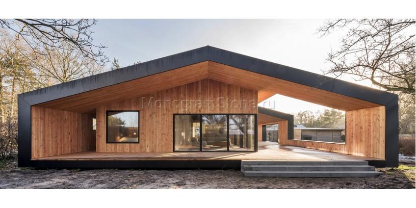 Скандинавский стиль в архитектуре частных домов
