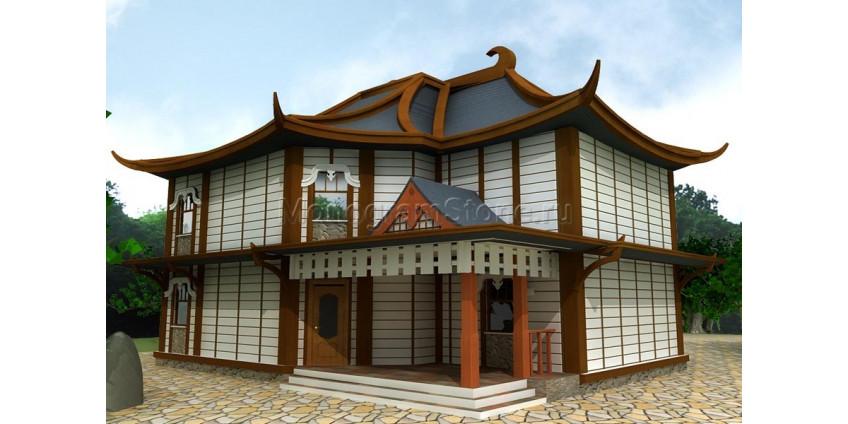 Японский стиль фасада