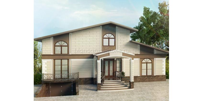 Оформление фасада в стиле ар-деко