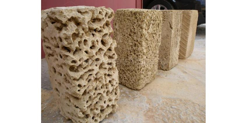 Природный камень  ракушечник особенности укладки