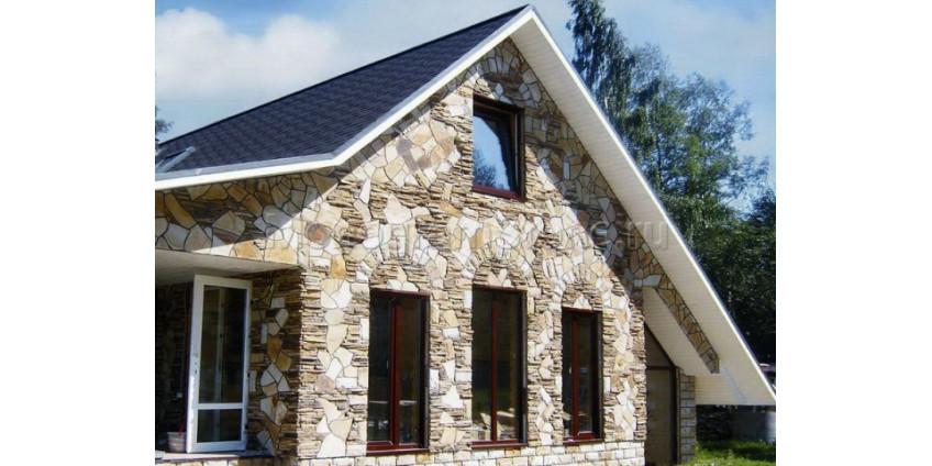Преимущества облицовки фасада натуральным камнем