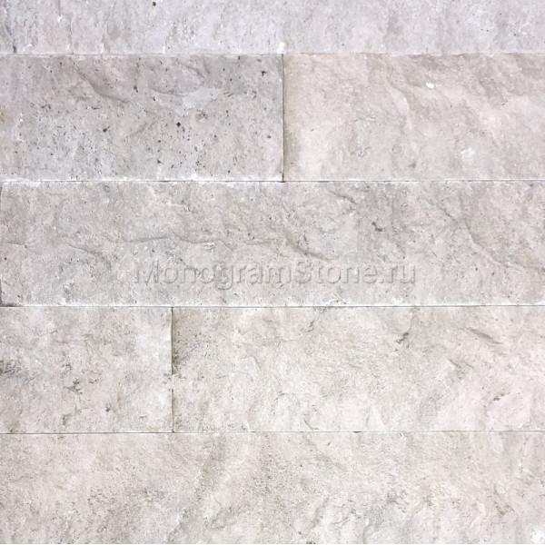 Доломит серый Скала 100х180-600х25 мм.