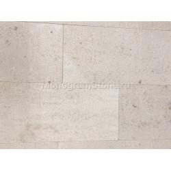 Песчаник мраморизованный розово-белый 160х350мм.