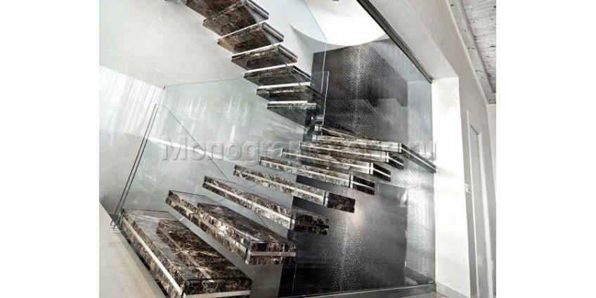 Лестницы из природного камня: профессиональная отделка
